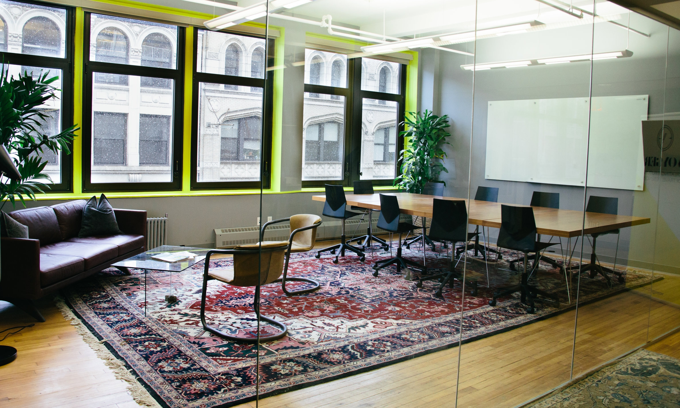 VoyagerHQ NYC coworking space