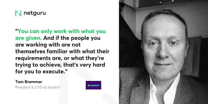 Tom Brammar on working with what you are given