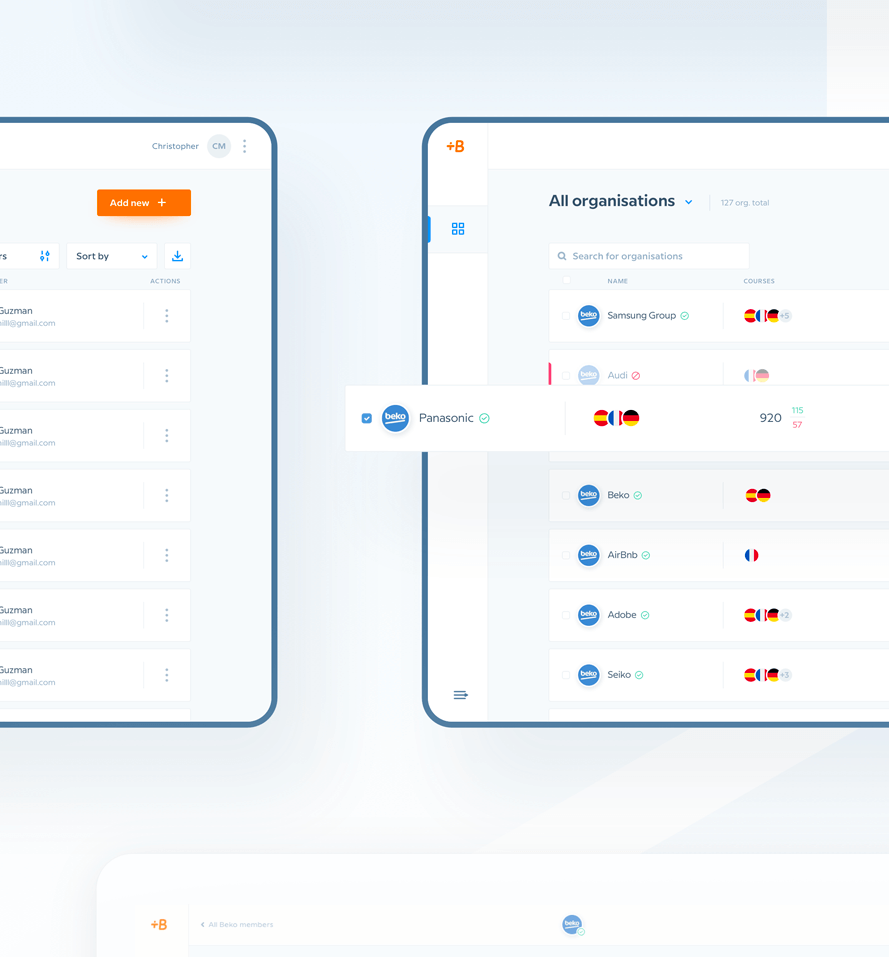 babbel dashboard