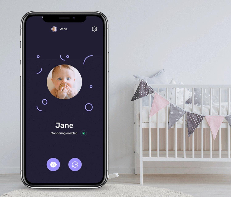 baby guard app interface