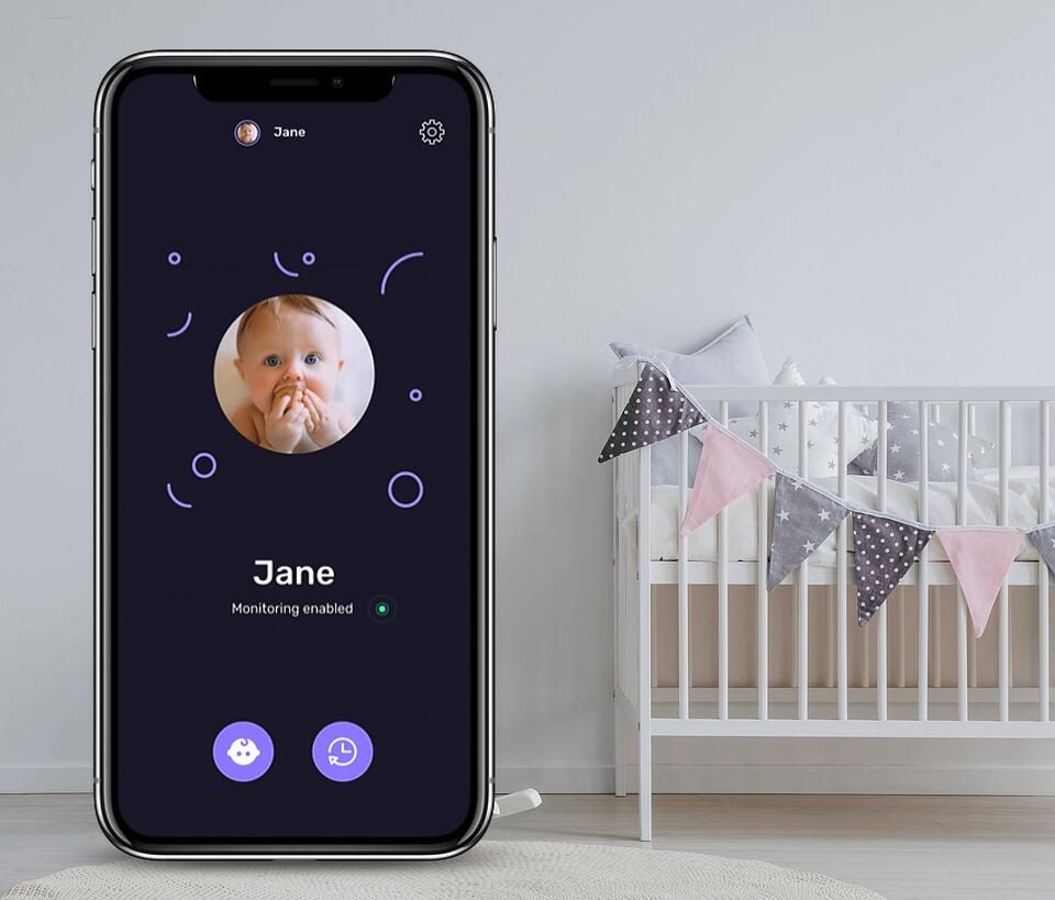 baby guard app interface