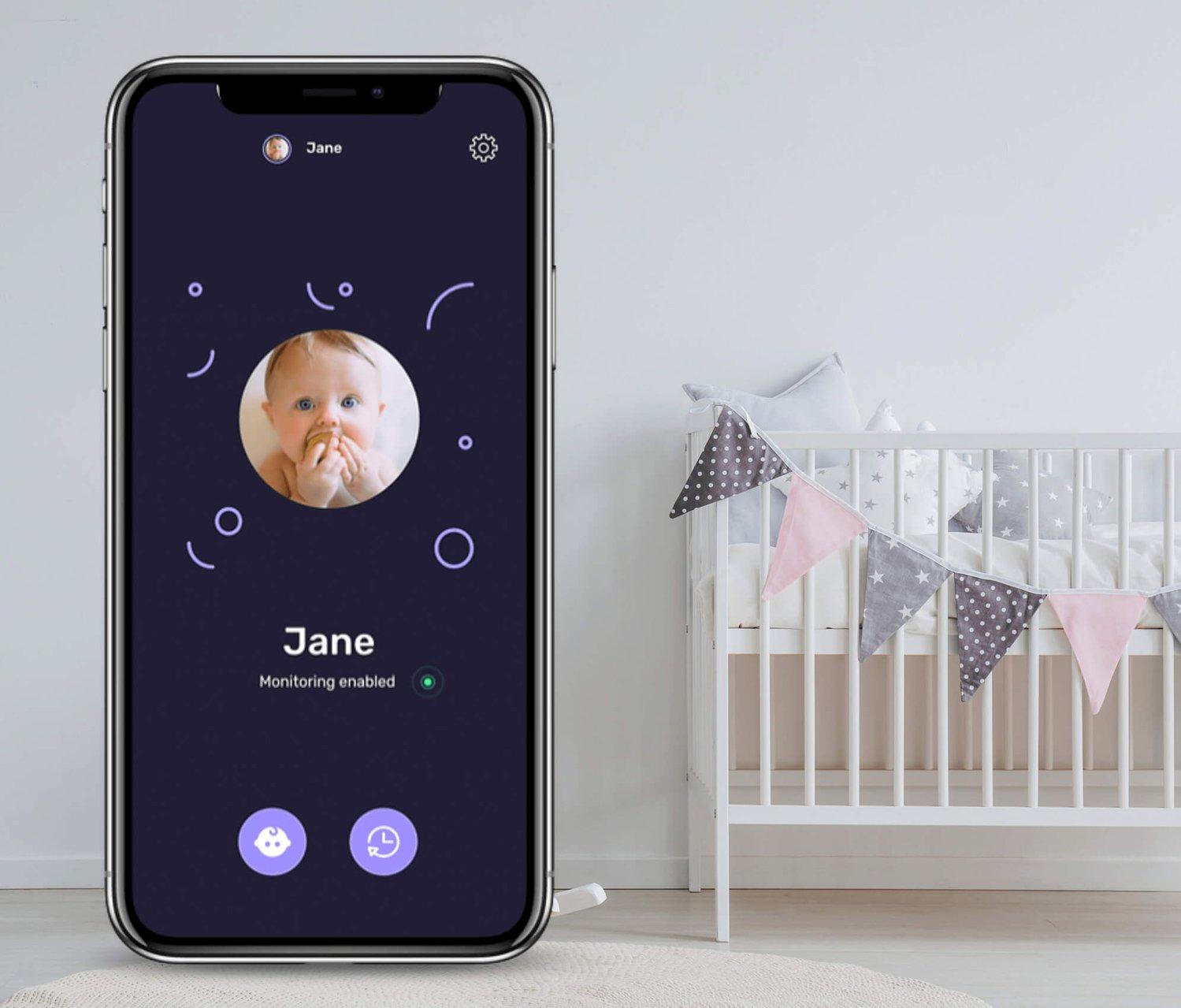 babyguard app interface