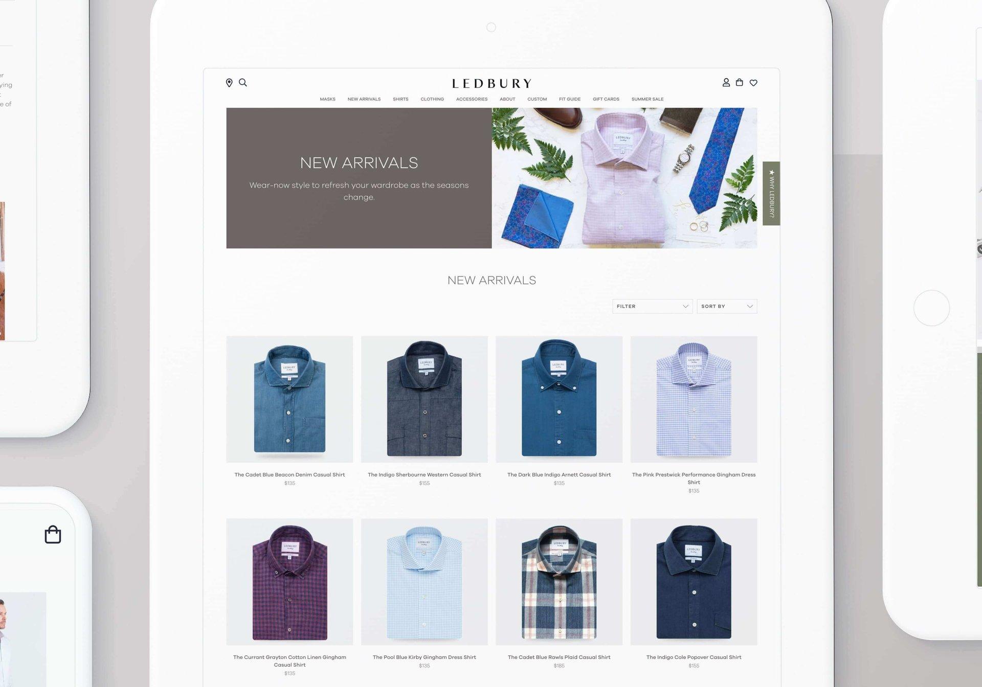 Netguru client: Ledbury, retail sector