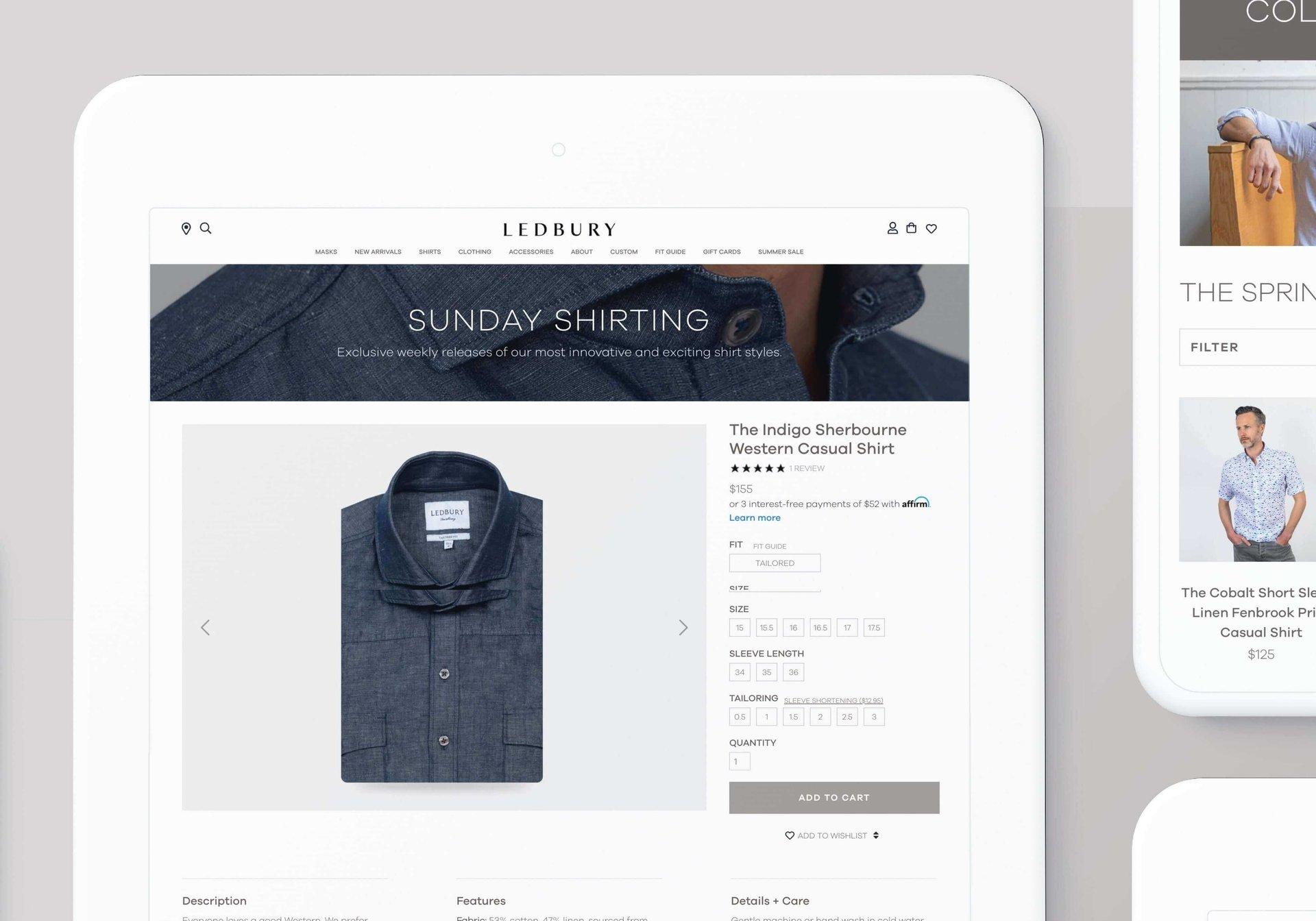 Netguru clients: Ledbury, retail sector