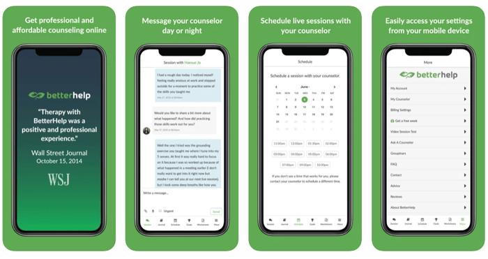 betterhelp online counseling app