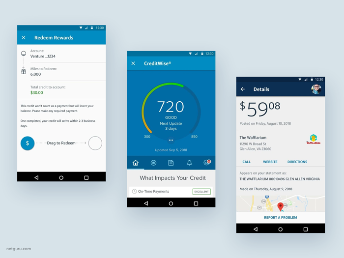 capital one mobile banking app