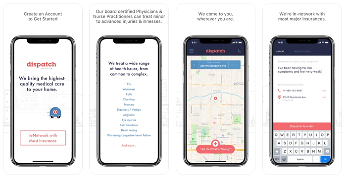 dispatch health app