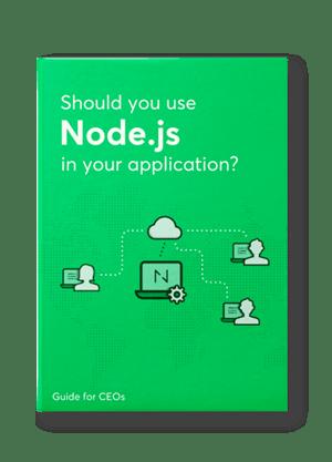 Node.js ebook cover