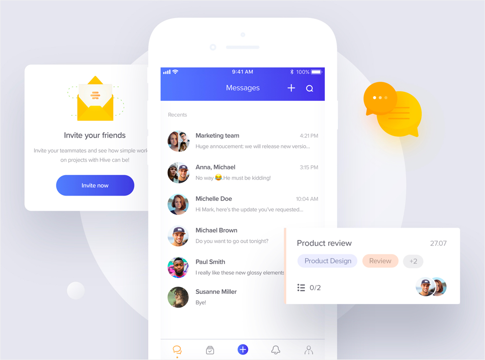 Hive: Mobile app developed by Netguru