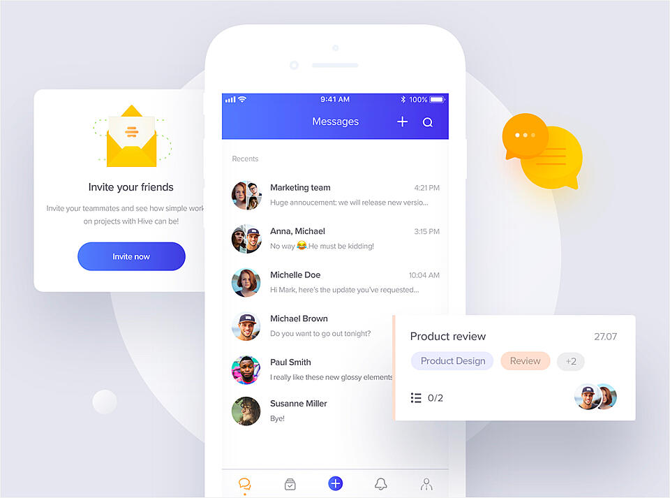Hive: Mobile app developed by Netguru