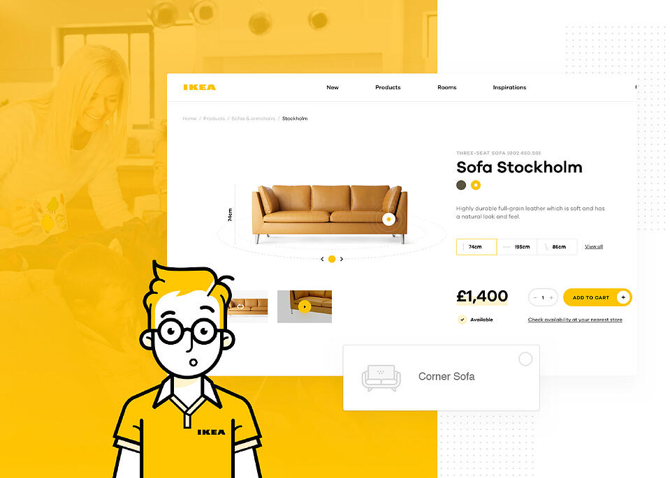 Retail Application developed for IKEA