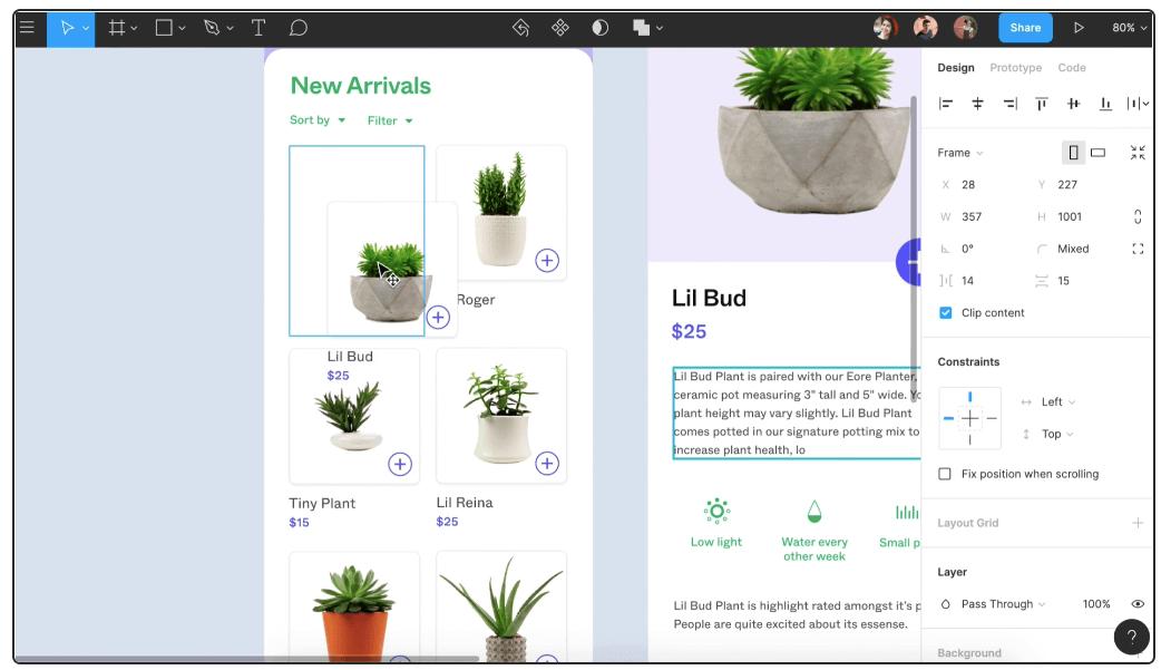 Figma product design