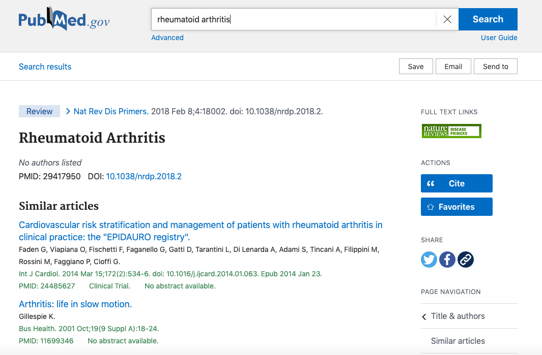 medical research software pubmed