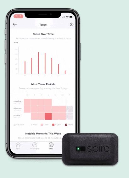 intelligent health tracker spire