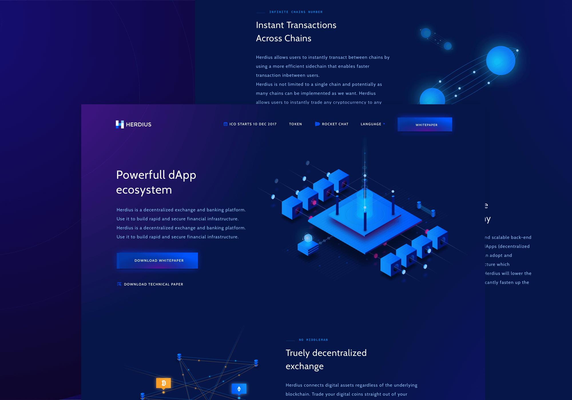 Herdius app design