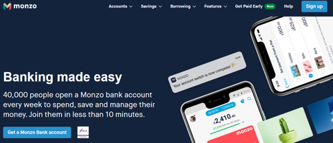 easy banking monzo