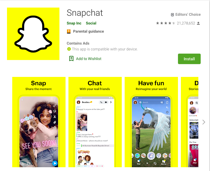 how to make app icon to stand out in app store snapchat