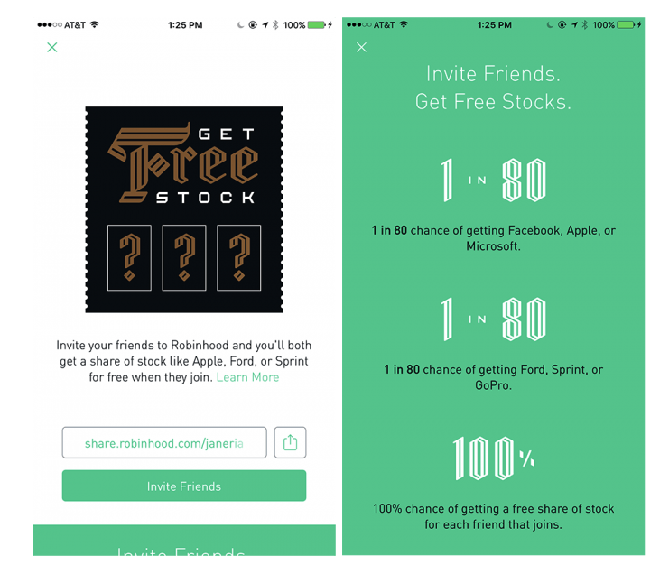 referall rock app promotion