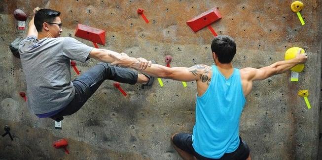 startup climbing new york