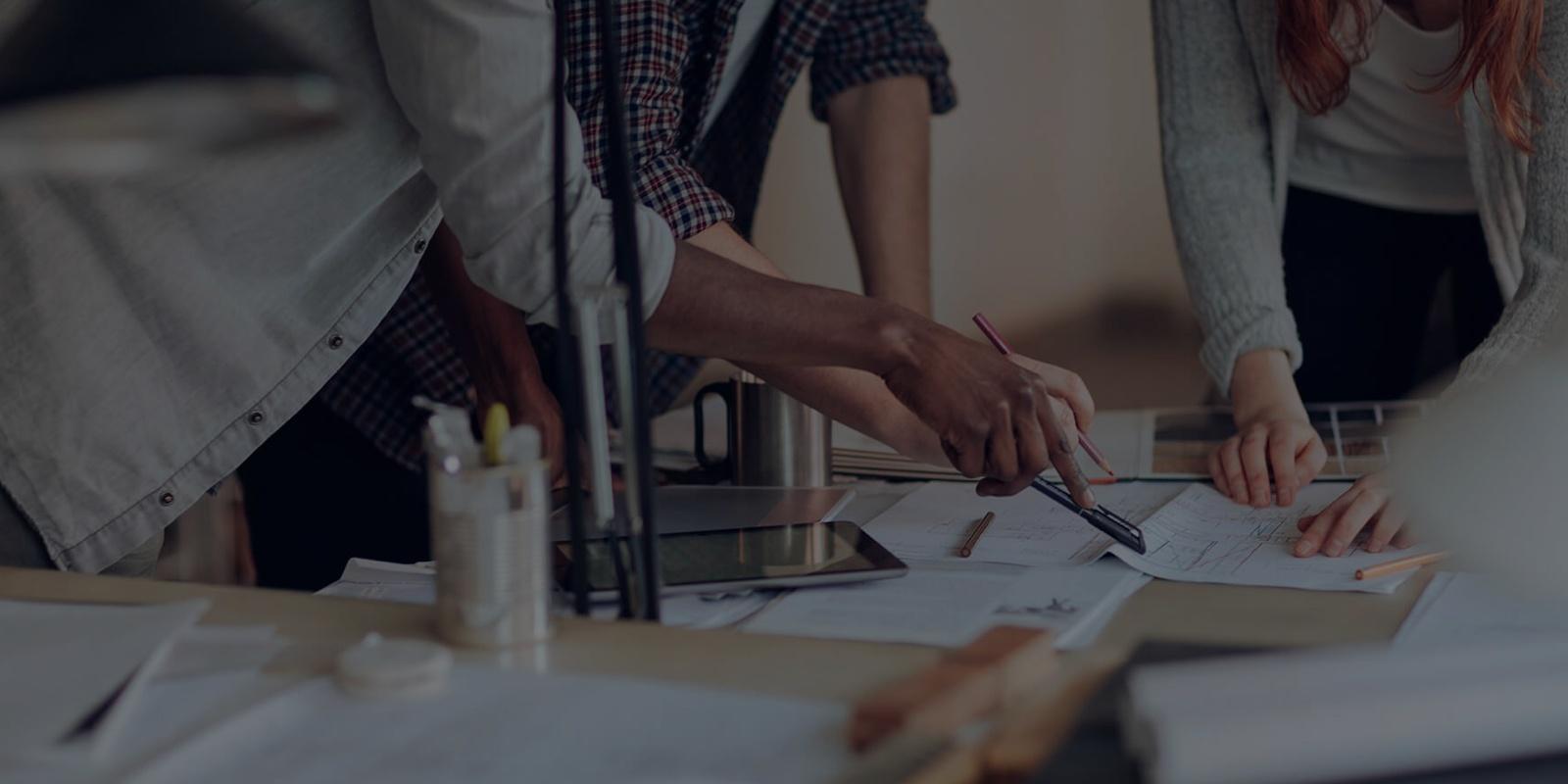 Team planning UX Design project