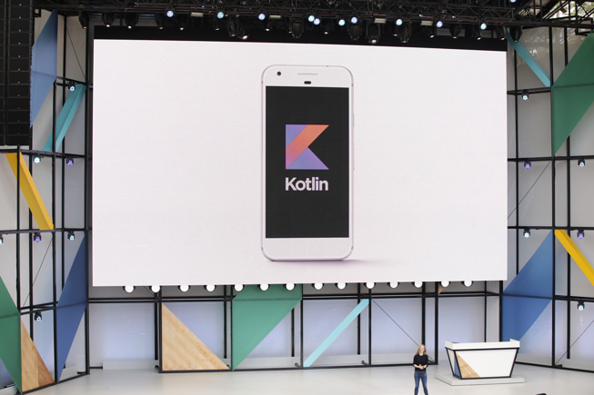 Google I/O 2017 conference: Support for Kotlin announcement