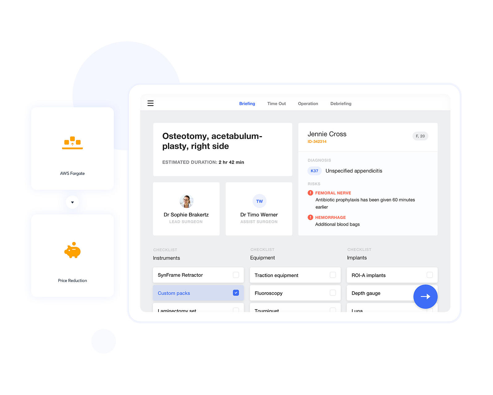 Nodus Medical - Cloud Application developed by Netguru