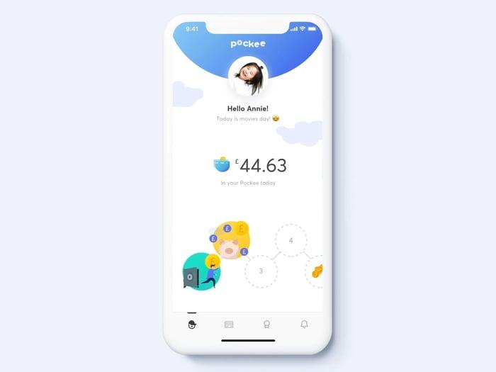Pockee - financial app concept