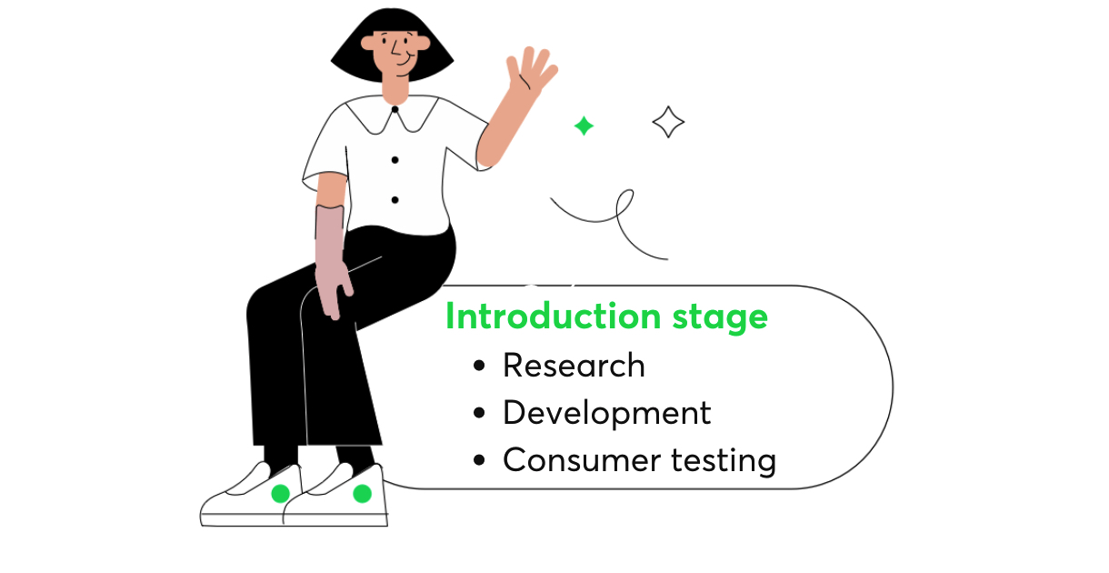 product development introduction stage