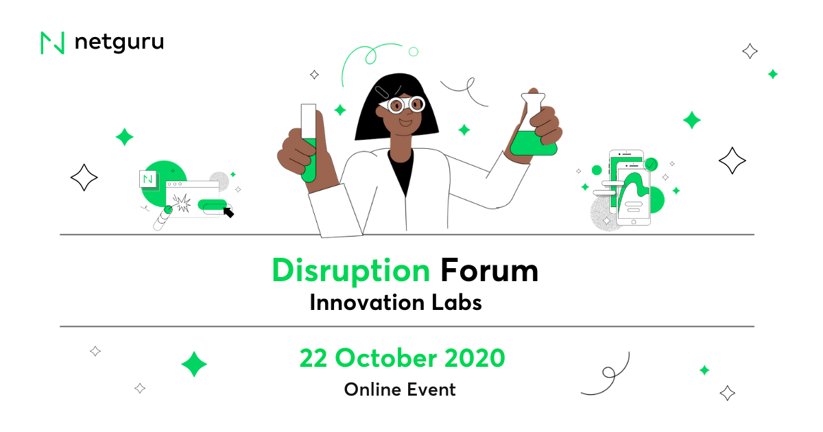 Innovation = a Corporation's Enemy? Join Disruption Forum by Netguru