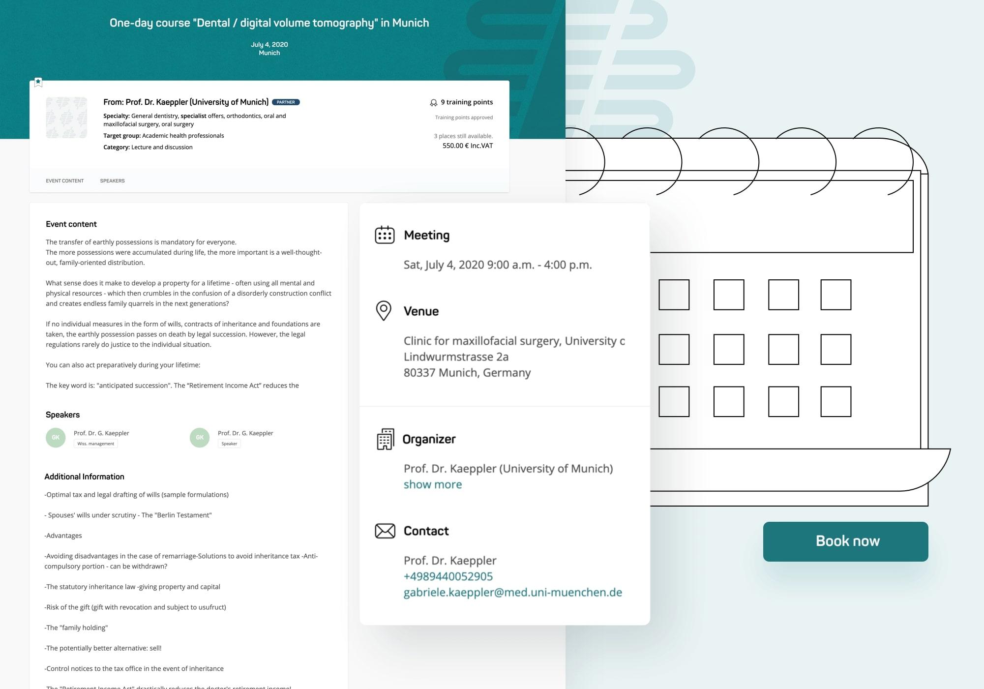 univiva platform interface