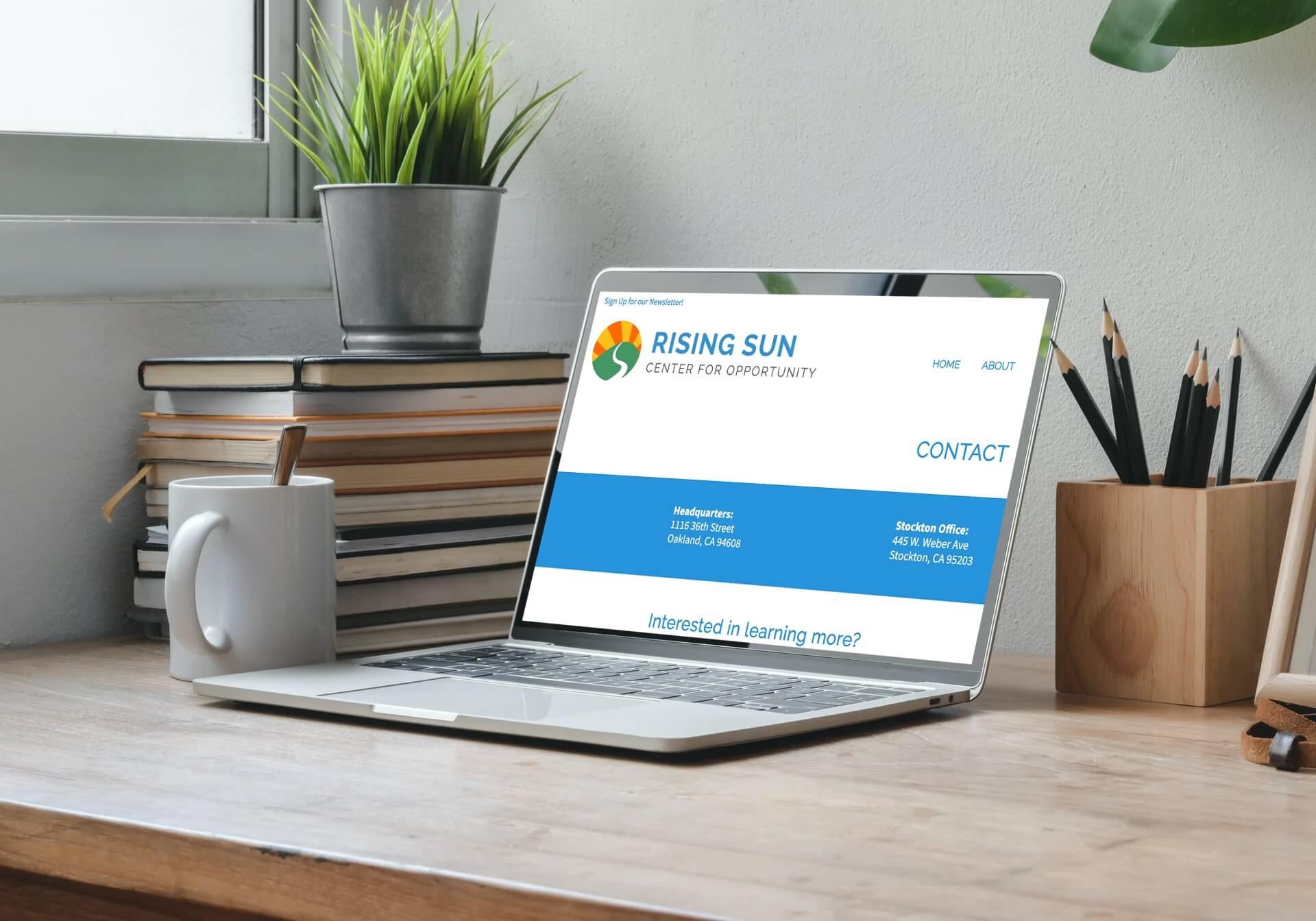 Rising Sun website
