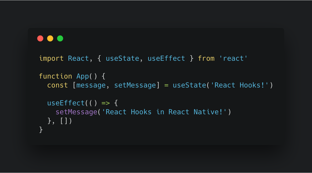 Using New React Hooks API in React Native | Netguru Blog on