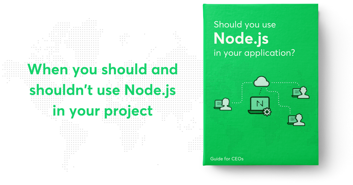 Should you use Node js in your application?